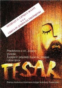 "Glazbeno - scenski prikaz o životu svetog Josipa - ""Tesar"""
