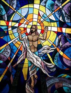 vitraj Marijana Jakubina u crkvi sv. Josipa radnika, Novo Virje