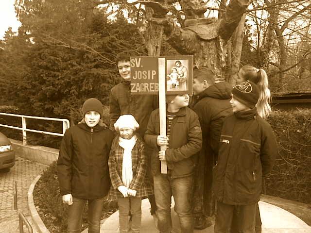 Križni put za djecu 2013